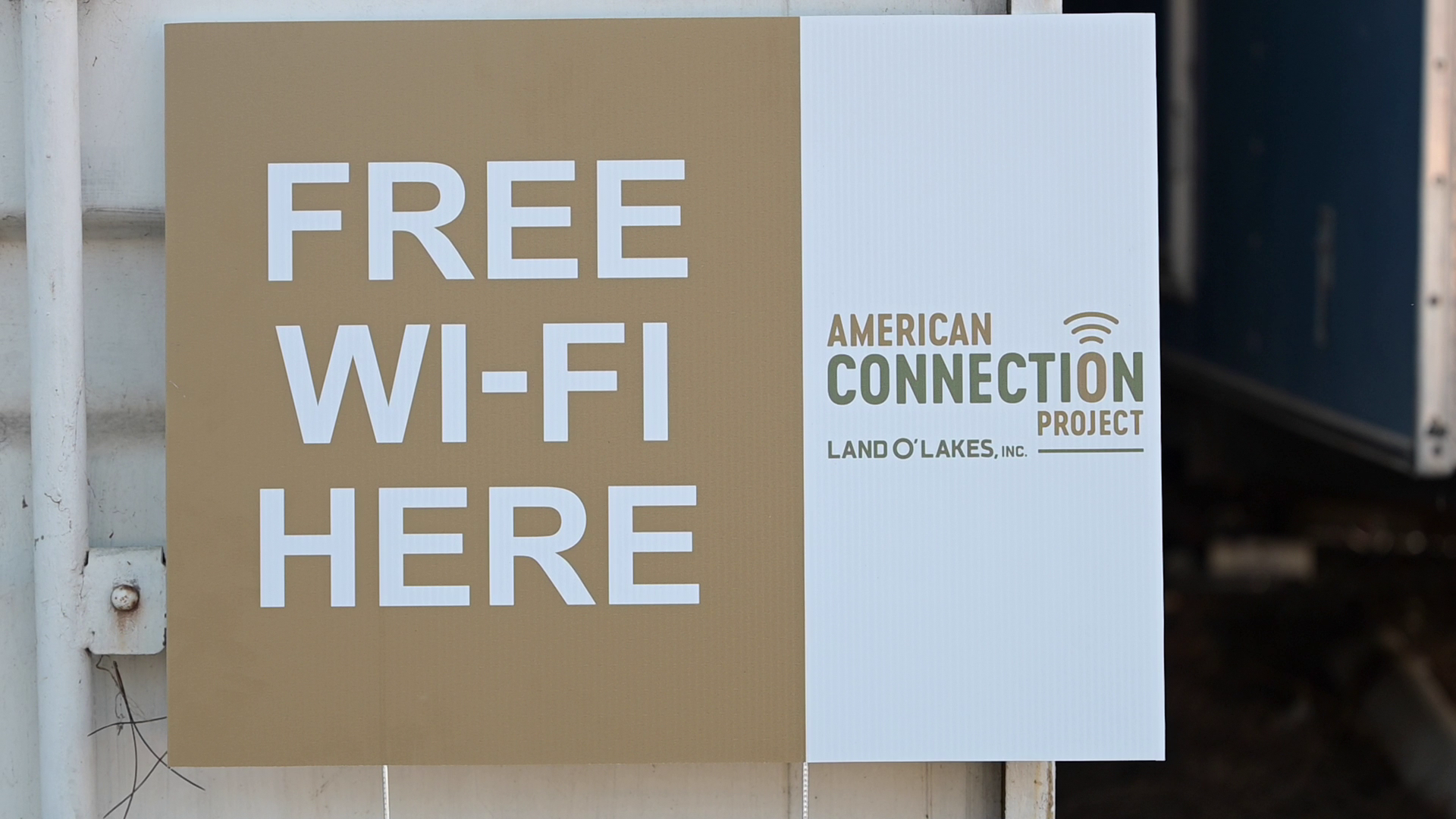 Land O'Lakes switches on free Wi-Fi for rural areas